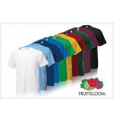 Camiseta manga corta Fruit of the loom - Pack de 6 uds