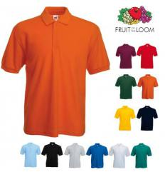 Polo Fruit of the Loom 65 35 - Pack de 10 uds