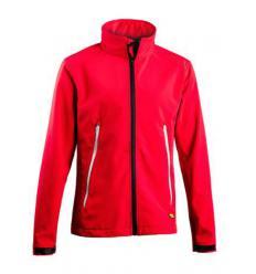 Cazadora sofshell Diadora Alpine red