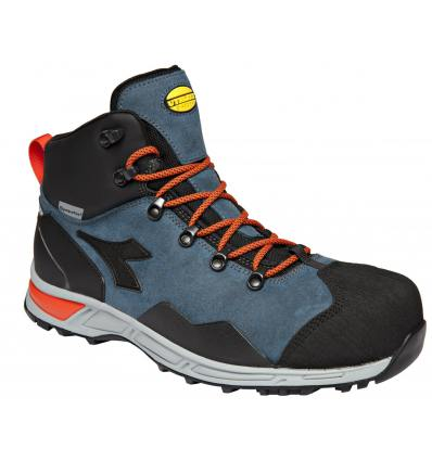 Zapato Diadora D-Trail Leather High S3 azul