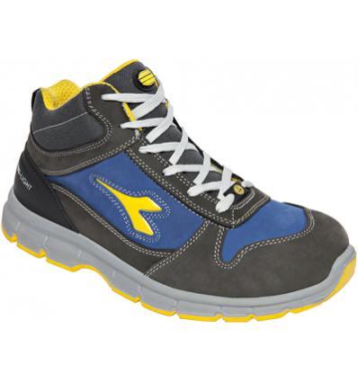 Zapato Diadora Run II High S3 Gris-Azul