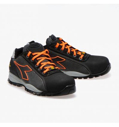 Zapato Diadora Glove Net Low Pro S3 gris/naranja