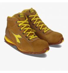 Bota Diadora Glove High S3 Marrón