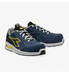 Zapato Diadora Run Net Airbox Low S3 azul