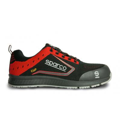 Zapato Sparco NewCUP S1P rojo