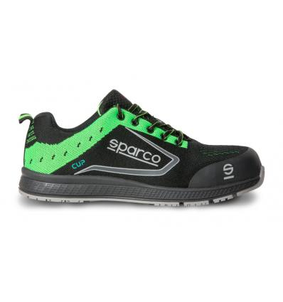 Zapato Sparco NewCUP S1P verde
