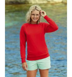 Sudadera mujer Ligera Fruit of the Loom - Pack de 5 uds