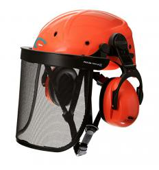 Casco completo equipos forestales
